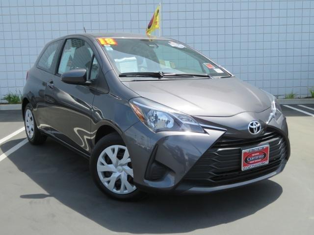 Certified 2018 Toyota Yaris 2-Door Hatchback Ventura,