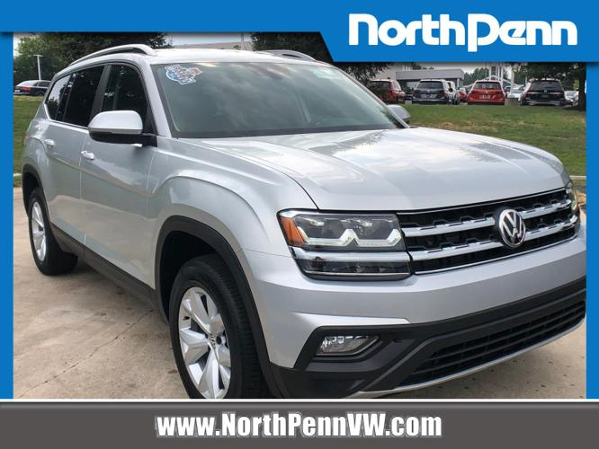 Certified 2018 Volkswagen Atlas 4Motion SE V6 w/