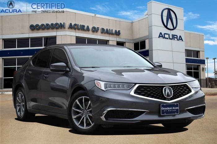 Certified 2019 Acura TLX w/ Technology Package Dallas,