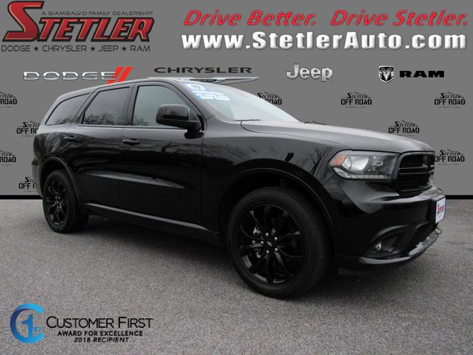 Certified 2019 Dodge Durango AWD SXT York, PA 17404