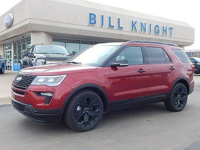Certified 2019 Ford Explorer 4WD Sport STILLWATER, OK