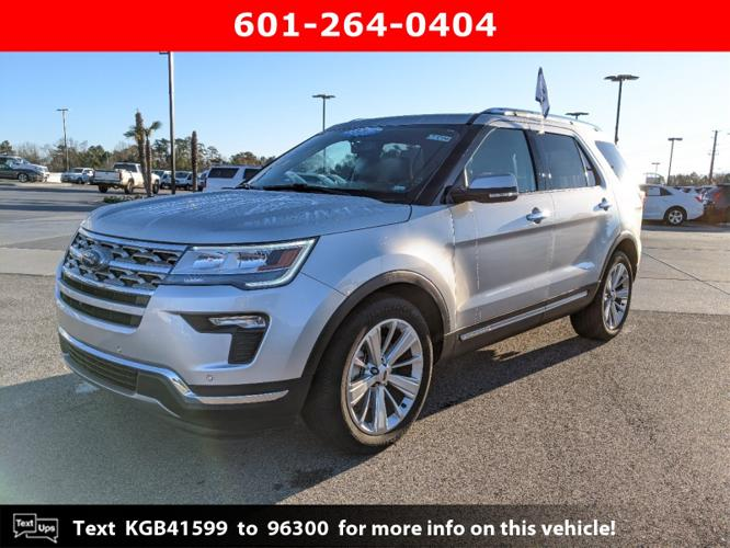 Certified 2019 Ford Explorer FWD Limited Hattiesburg,