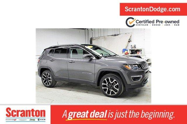 Certified 2019 Jeep Compass 4WD Limited Scranton, PA