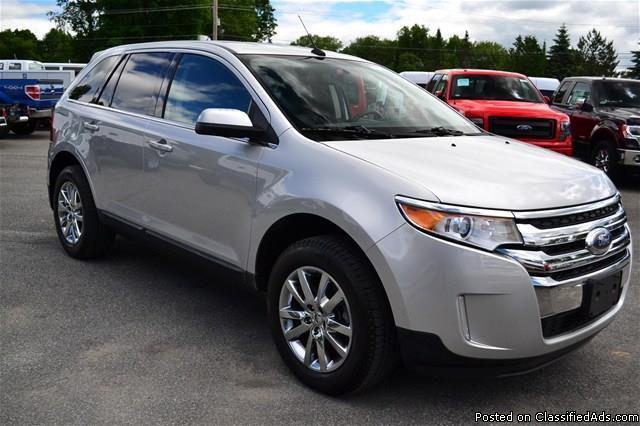 certified pre owned 2013 ford edge 39 limited 39 awd navigation rhinebeck for sale in rhinebeck. Black Bedroom Furniture Sets. Home Design Ideas