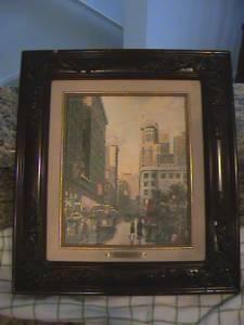 Thomas Kinkade Painting Classifieds   Buy U0026 Sell Thomas Kinkade Painting  Across The USA Page 2   AmericanListed