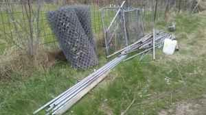 chain link fence - $1 (milford, ne)