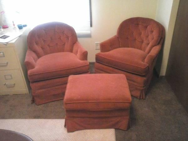 Chair With Foot Stool Set For Sale In Eau Claire Wisconsin Classified
