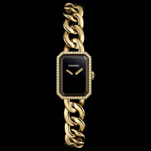 Chanel Première Womens Yellow Gold and Diamond Quartz