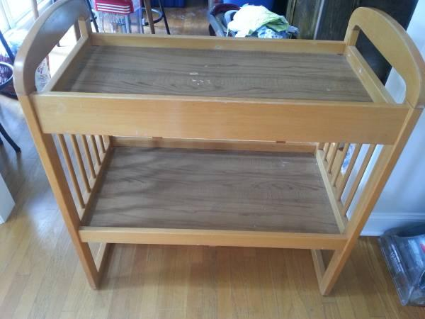 Changing Table   Oak   $25