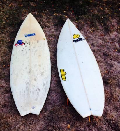 Channel Islands Surfboard & Marty Allen Designs Surfboard