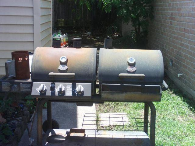 Char Griller Duo 3 Burner 40 800 Btu Liquid Propane Gas