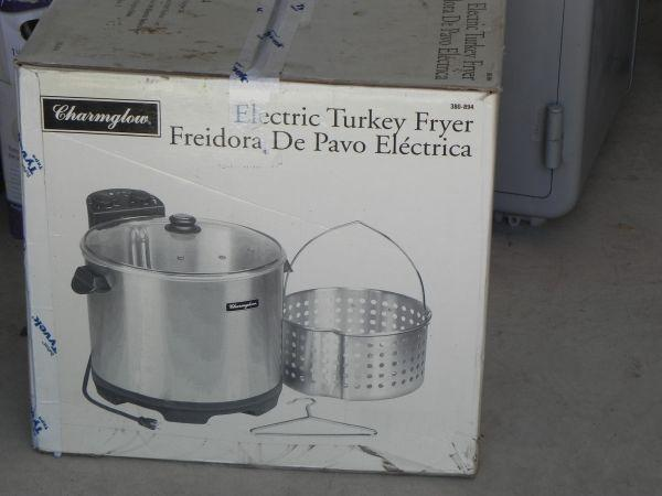 Charmglow Electric Turkey Fryer Marblefalls For Sale