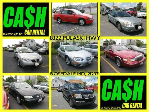 Car Rentals In Baltimore Md: CHEAPEST WAY TO RENT A CAR FOR CASH; NO INSURANCE OR