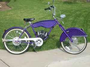 ** CHEETOS CHOPPER BIKE ** Chester Cheetah