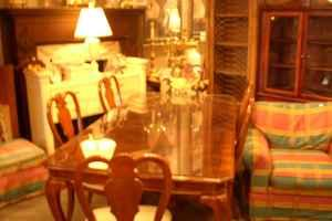CHERRY DINING ROOM SET WITH 6 CHAIRS JEFFERSONVILLE IN