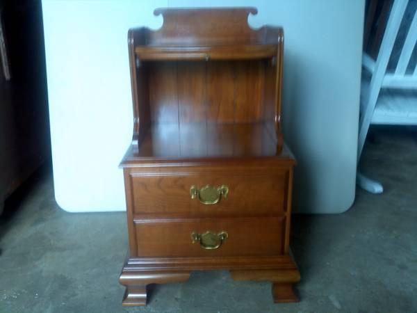 Cherry Wood Nightstand Pennsylvania House For Sale In