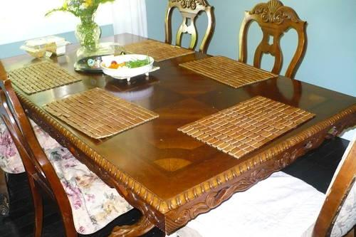 Cherry wood table for sale in gig harbor washington for Furniture gig harbor