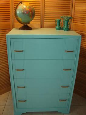 Chest of Drawers 1950'S Era.