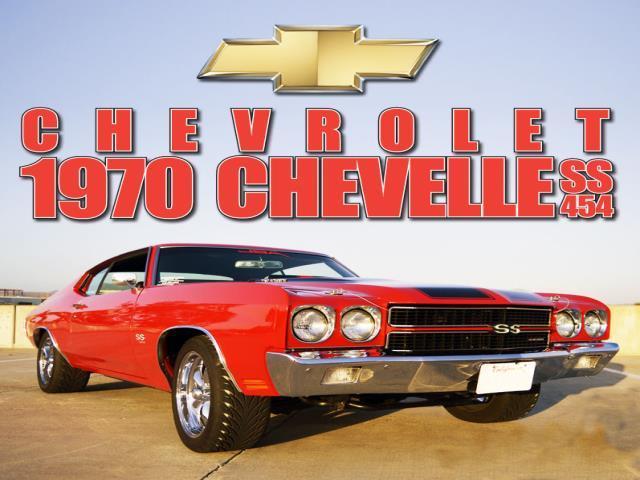 Chevrolet Chevelle Ss454 1970 Chevrolet Chevelle Classic