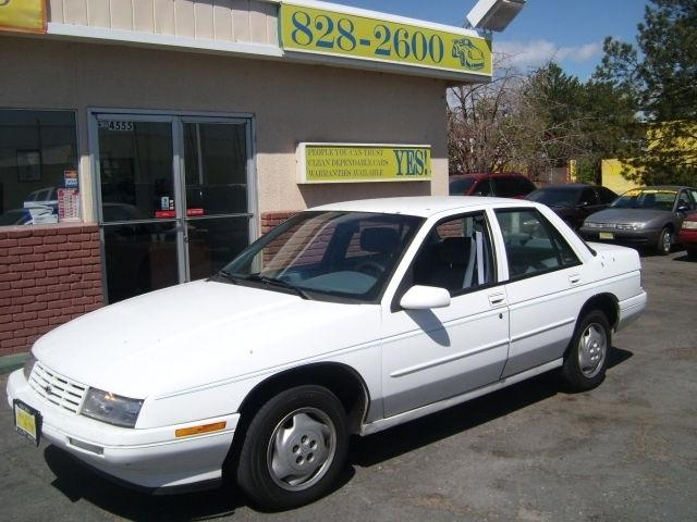 Chevrolet Corsica 1996 1996 Chevrolet Corsica Car For
