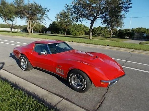 Chevrolet Corvette Stingray T-Top