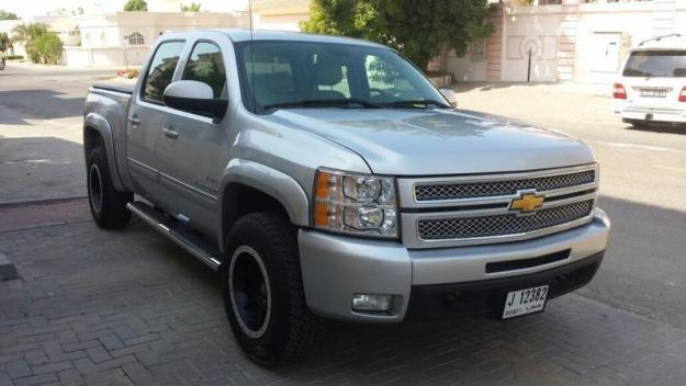 chevrolet silverado ltz 2013 gcc full option warranty full service. Cars Review. Best American Auto & Cars Review