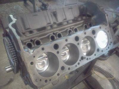 Chevy 305 SBC stroker 335 short block new - $1000