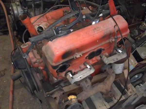 Chevy 327 V8 Motor For Sale From 67 Chevelle For Sale In Denver