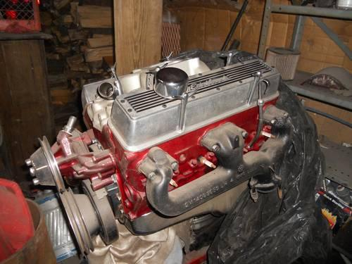 CHEVY 350 FOUR BOLT MAIN SHORTBLOCK ENGINE