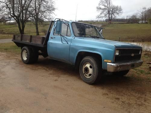1984 chevy dually flatbed