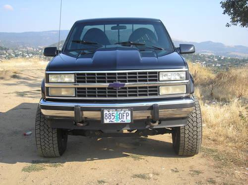 chevy 4x4 show truck for sale in medford oregon classified. Black Bedroom Furniture Sets. Home Design Ideas
