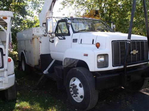 Chevy 7500 Altec An546 Non Overcenter Bucket Truck For