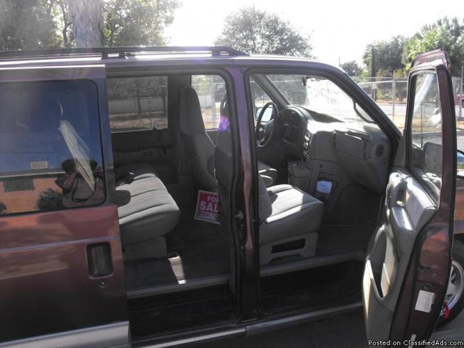 Chevy astro van for sale