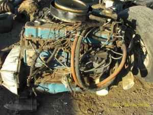 Chevy Inline 292 Six Cylinder Engine - $450 (White