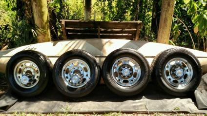 Chevy Silverado Rims and Tires -