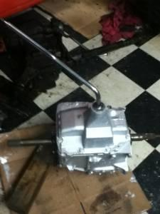 Chevy SM465 4speed and np208 transfer case - $300 (Cynthiana)