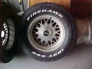 chevy wheels - $150 western ks