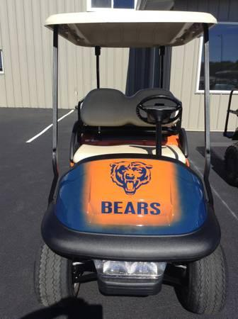 Chicago Bears custom golf cart - for Sale in Dixon, Illinois ... on