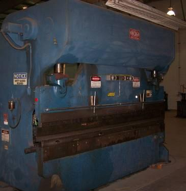 Chicago Brake 150 Ton Brake Press