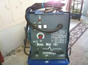 Chicago Electric Dual Mig 151 Welder (new phone #) -
