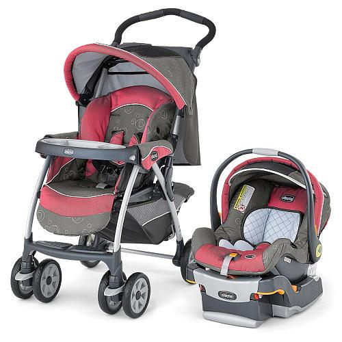 Chicco Cortina Travel System Stroller - Foxy