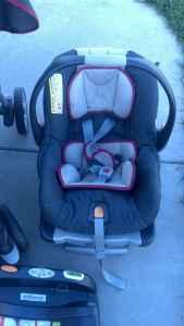 Chicco Key Fit Travel System - $100 (NE Lincoln)