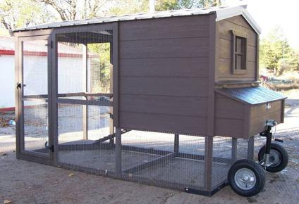 chicken coops and other buildings that are built