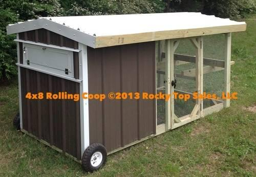 Chicken Coops Many Models To Choose From Rolling