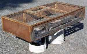 Chicken Crate - $10 (Van Buren, Ohio)