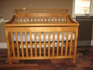 Child craft convertible crib flora for sale in for Child craft crib reviews