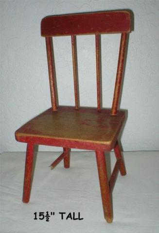 Child's Antique Chair - Early 1900's