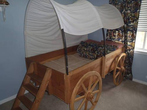 Child S Covered Wagon Bed For Sale In Flower Mound Texas