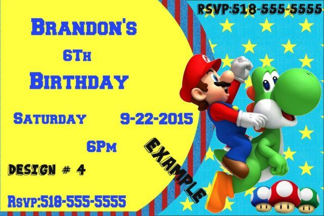 Children's Party Invitations Personalized
