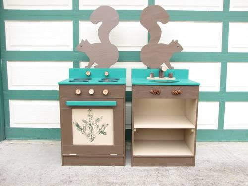 Children 39 s play kitchen set for sale in graham washington for Kids kitchen set sale